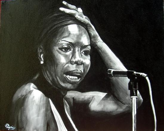 Nina Simone by poussin